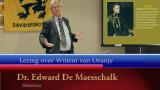 Lezing van Dr. Edward De Maesschalck over Willem van Oranje