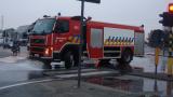 Brandweer oliespoor