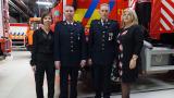 Brandweermannen beloond met een medaille in Mol